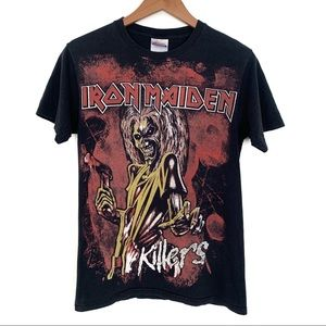 Iron Maiden Killers graphic band T-shirt
